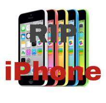 iPhone 5C price RIP