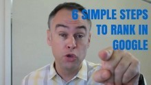 6 simple steps on how to rank a page in google