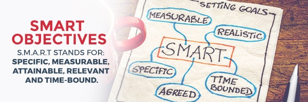 Create Smart Objectives for Content Marketing